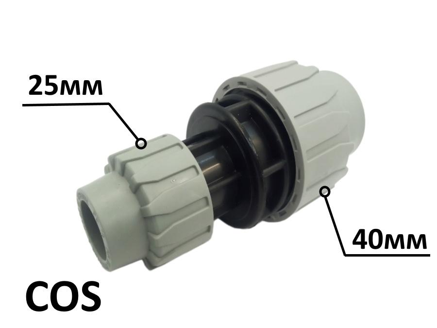 Муфта редукционная COS МР 40x25