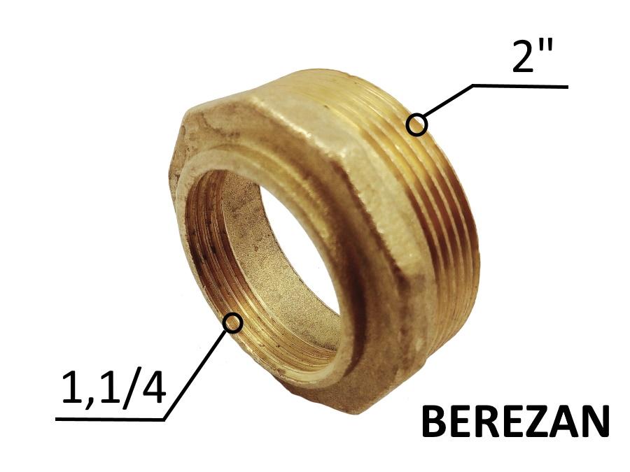 Переходник Футорка 2н - 1.1/4в латунный усиленный