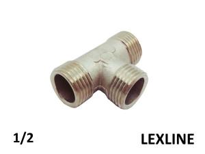 Тройник 1/2 ННН - LEXLINE (Ni) усиленный.