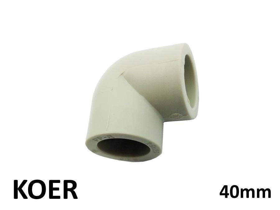 Колено 40/90 KOER