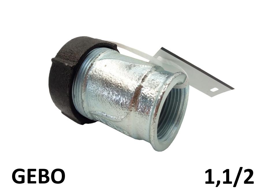 Оригинальная торцевая врезка GEBO 1,1/2 внутренняя