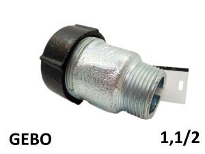 GEBO QUICK QO - (47,9-51,5mm) 1,1/2 наружная резьба