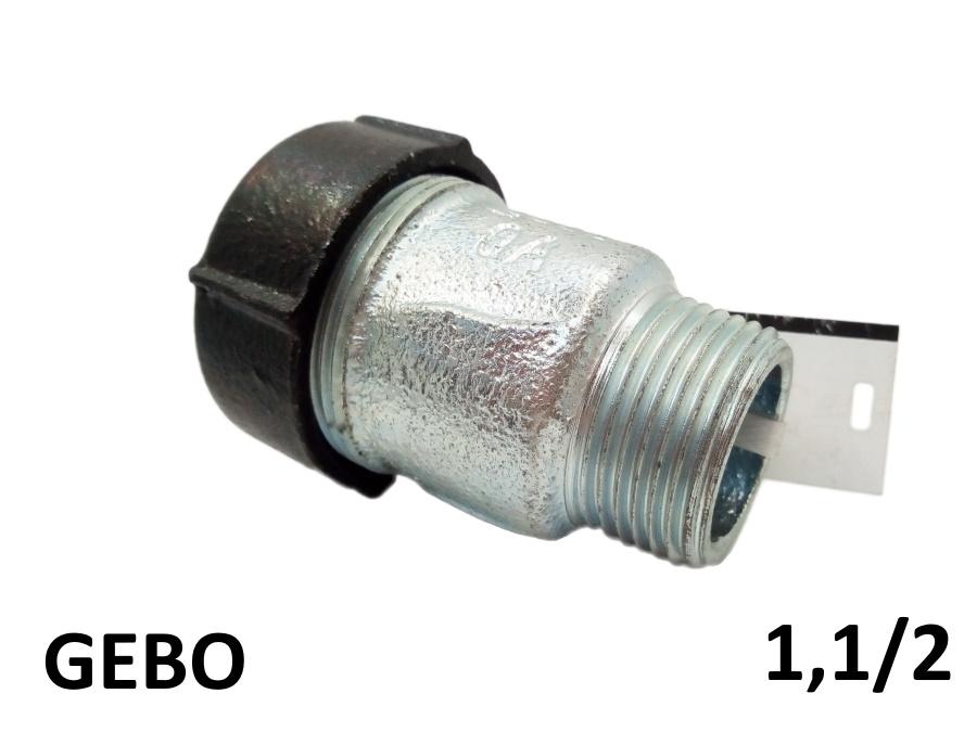 Оригинальная торцевая врезка GEBO 1,1/2 наружная