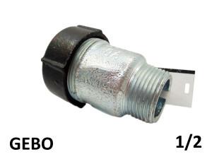 GEBO QUICK QO - (19,7-21,8mm) 1/2 наружная резьба