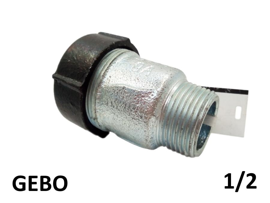 Оригинальная торцевая врезка GEBO 1/2 наружная