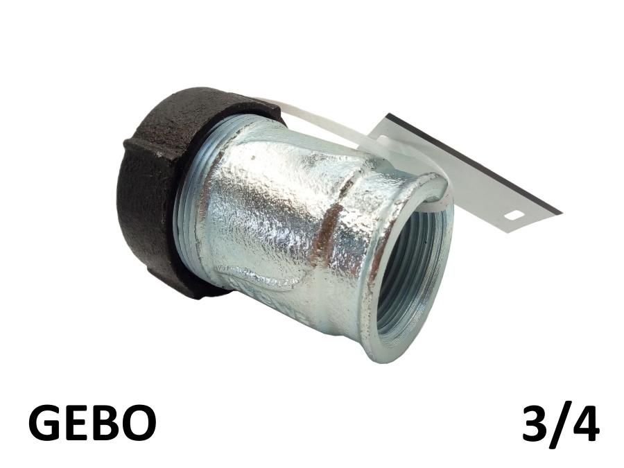 Оригинальная торцевая врезка GEBO 3/4 внутреняя