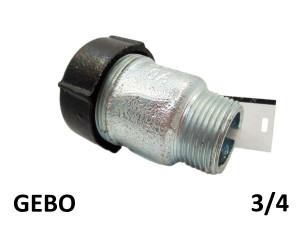 GEBO QUICK QO - (24,6-27,3mm) 3/4 наружная резьба