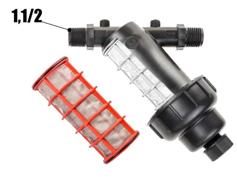 Фильтр сетчатый для капельного полива 1.1/2 дюйма - 10 кубов