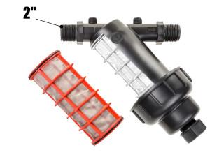 Фильтр сетчатый для капельного полива 2 дюйма