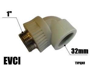Колено 32-1н EVCI