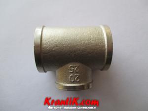 Тройник 1в-3/4в-1в - LEXLINE (Ni) усиленный.