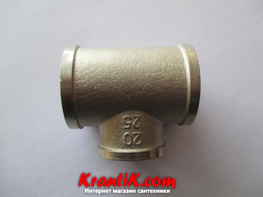 Тройник 1в-3/4в-1в - LEXLINE (Ni), усиленный.