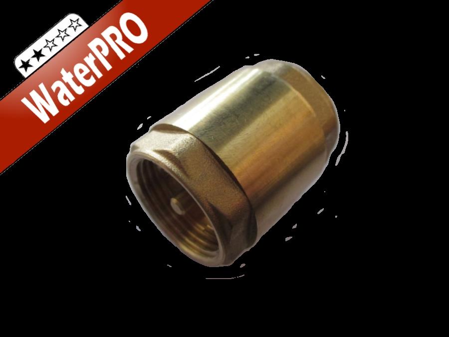 Обратный клапан с латунным штоком 3/4 Сантехкомплект