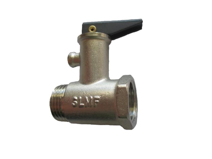Клапан для бойлера 1/2 c ручкой (6атм) SLMF