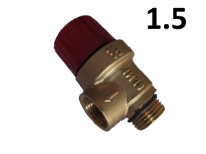 Предохранительный клапан SLMF 1/2 нар. (1.5 BAR)