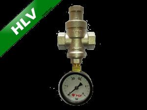 Редуктор давления 1/2 HLV (1-4bar) + манометр
