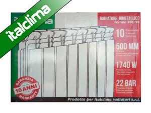 Радиатор ITALCLIMA 96х500 - Биметаллический