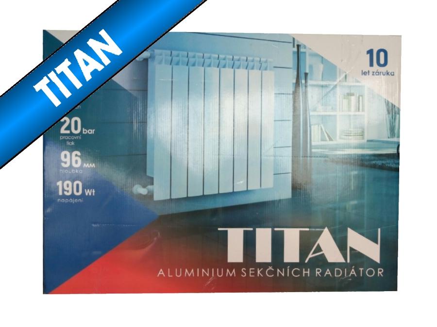 Радиатор TITAN 96х500  - Алюминиевый