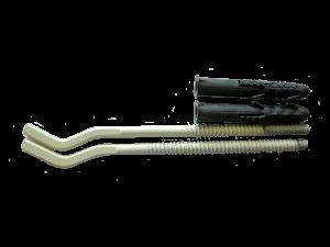 Крюк радиаторный 220мм (пара)