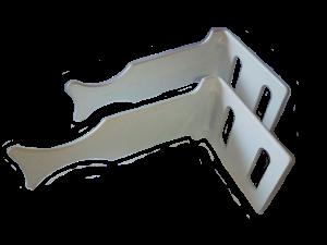 Пластинчатое крепление радиаторов (1шт)