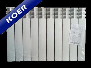 Радиатор KOER 100х500 - Биметаллический
