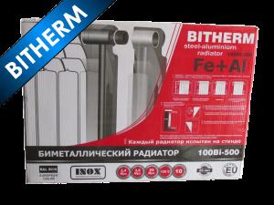 Радиатор BITHERM 100х500 - Биметаллический