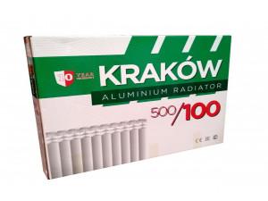 Радиатор Алюминиевый KRAKOW 100х500
