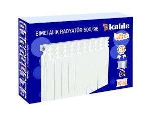 Радиатор KALDE 100x500 - Биметаллический