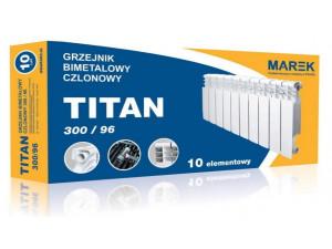 Радиатор Биметаллический MAREK-TITAN 96х300 низкий